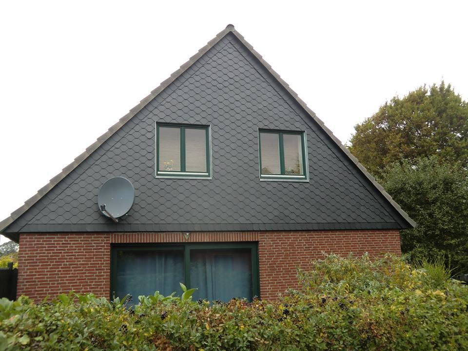 Eine Fassadenbekleidung von Malü Bedachungen aus Schönkirchen bei Kiel