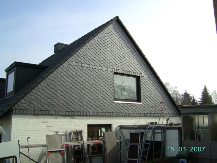 Fassadenbekleidung von Malü Bedachungen aus Schönkirchen bei Kiel
