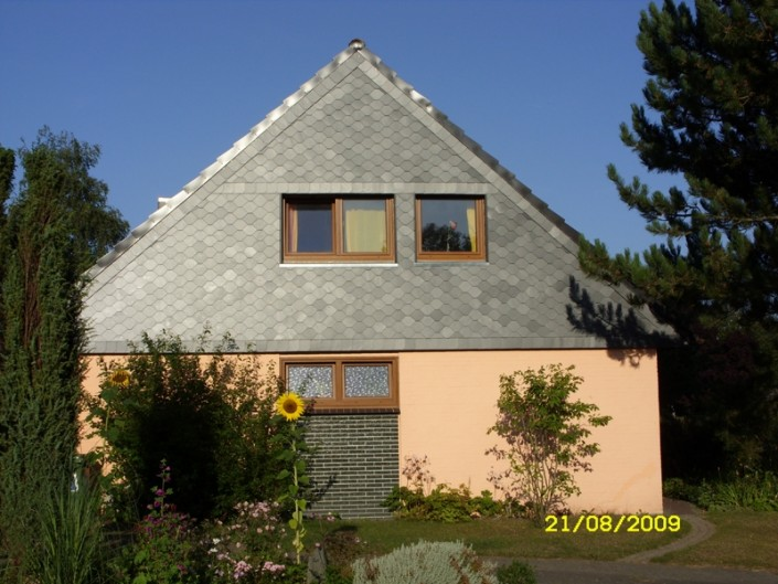Fassadenbekleidung : Dachdecker Olaf Malü Schönkirchen bei Kiel