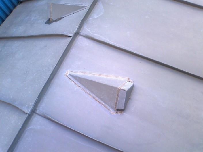 Bauklempnerei von der Dachdeckerei Olaf Malü