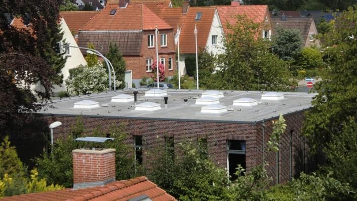 Eine Flachdachabdichtung vom Dachdecker Olaf Malü aus Schönkirchen bei Kiel
