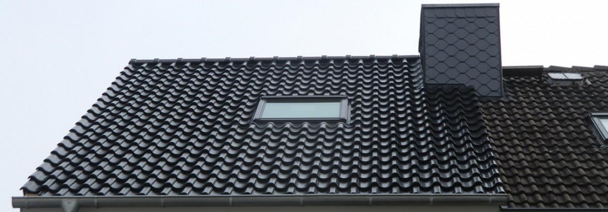 Ein weiteres gedecktes Dach von Malü Bedachungen