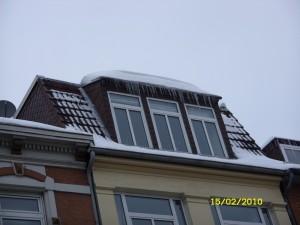 Machen Sie Ihr Gebäude winterfest - Malü Bedachungen Kiel