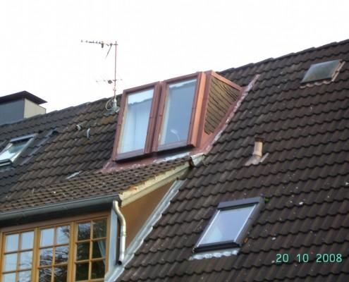 Alte Velux Dachflächenfenster