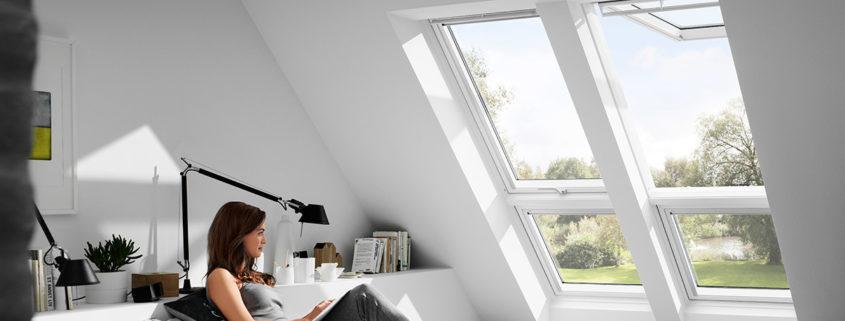 Velux Dachfenster - Bildquelle: Velux
