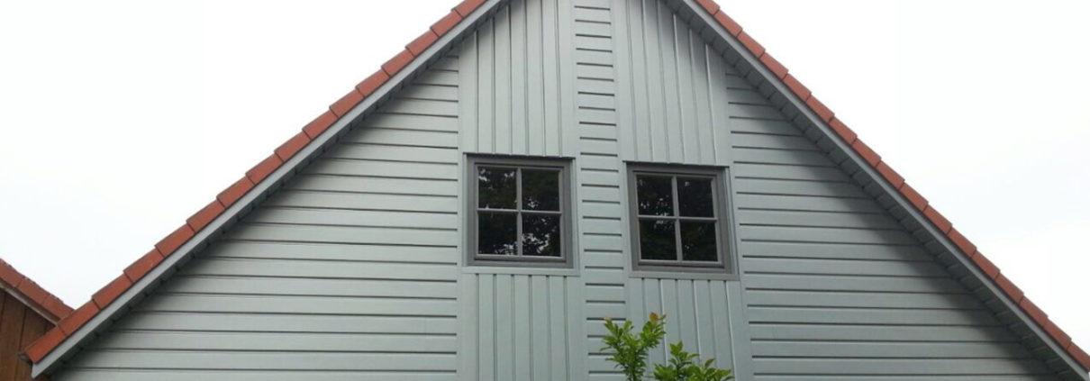Gibelverkleidungen - Dachdeckerarbeiten von Malü-Bedachungen aus Schönkirchen bei Kiel