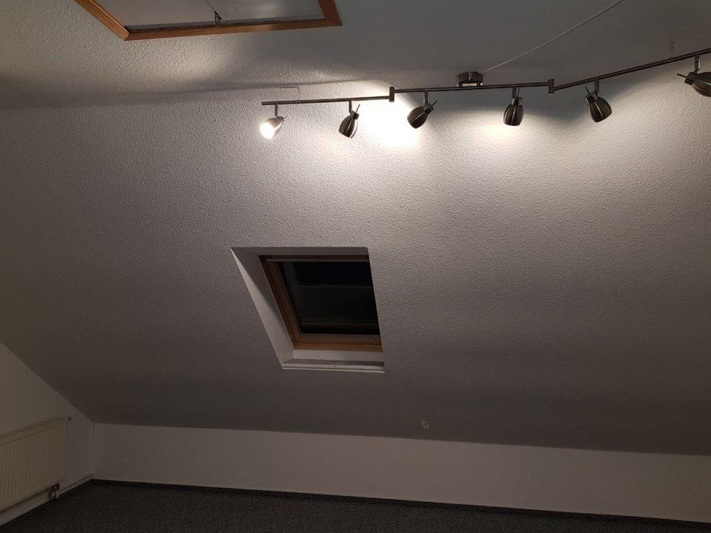 Der Raum vorher