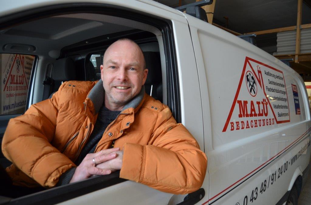 Dachdeckermeister Olaf Malü
