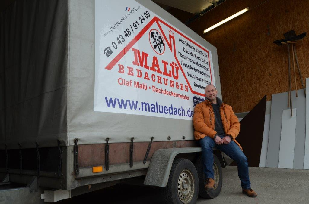 Olaf Malü, Dachdeckermeister aus Schönkirchen bei Kiel