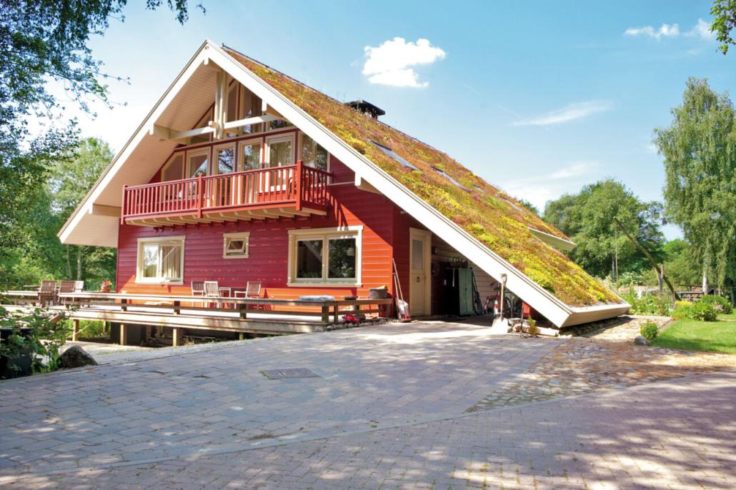 Umweltbewusstes Bauen beginnt mit der Auswahl natürlicher Materialien