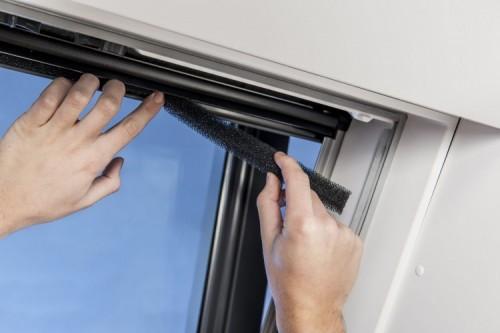 Wartung von Velux-Dachfenstern